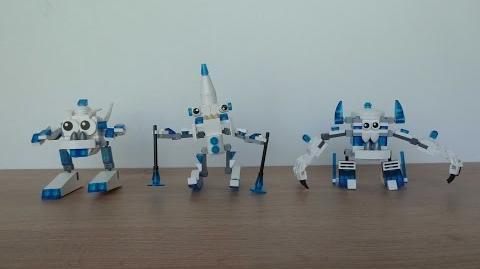 LEGO MIXELS SNOW MIXELS TRIBE + SNOW MAX MOC Fan Made