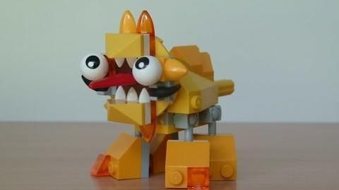 LEGO MIXELS SPUGG LEGO 41542 Lixers Tribe Mixels Serie 5