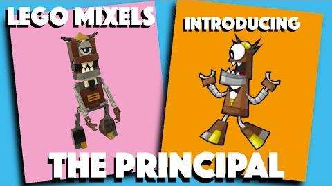 LEGO Mixels - The Principal - Stop Motion Build