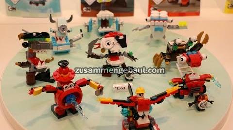 LEGO Mixels Series 7 and Series 8 Together on display!