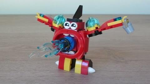 LEGO MIXELS SERIES 8 SPLASHO AQUAD MIX or MURP? Instructions Lego 41563 Lego 41564
