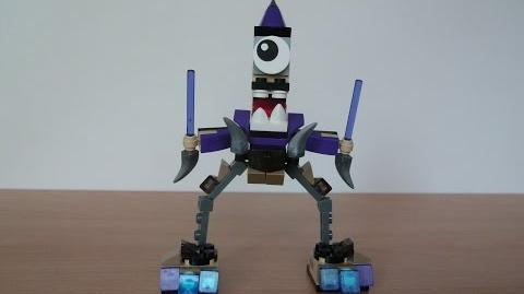 LEGO MIXELS FOOTI and MAGNIFO MURP with Lego 41521 and Lego 41525 Mixels Serie 3