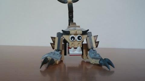 LEGO MIXELS FOOTI and SCORPI MIX with Lego 41521 and Lego 41522 Mixels Serie 3