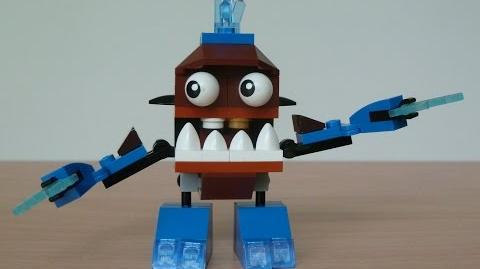 LEGO MIXELS SLUMBO and CHOMLY MIX with Lego 41509 and Lego 41512 Mixels Serie 2
