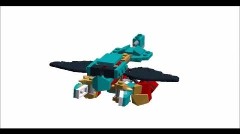 Lego Mixels Altair Animation Test