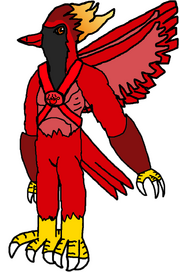 SukyoKasumon (Flain if he had the Digi-Spirit of Fire)