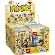 Mixels series 5 prototype box
