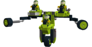 The Green Racers Mech