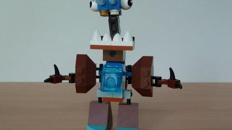 LEGO MIXELS LUNK and CHOMLY MURP with Lego 41510 and Lego 41512 Mixels Serie 2