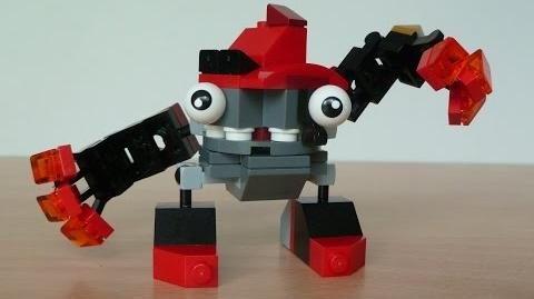 LEGO MIXELS VULK and KRADER MURP with Lego 41501 and Lego 41503 Mixels Serie 1