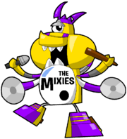 PD Cartoon Mixies Max