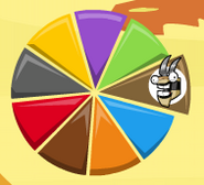 Footi in Mixels Pie Graph