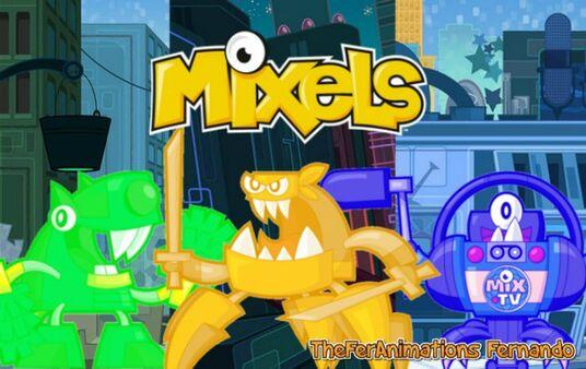 Mixels Series 9 Poster (TFA)