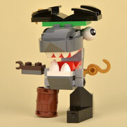 Lego Sharx Front Review