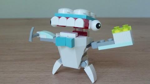 LEGO MIXELS TUTH LEGO 41571 Medix Mixels Series 8
