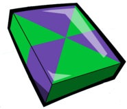 Green Purple Cubit