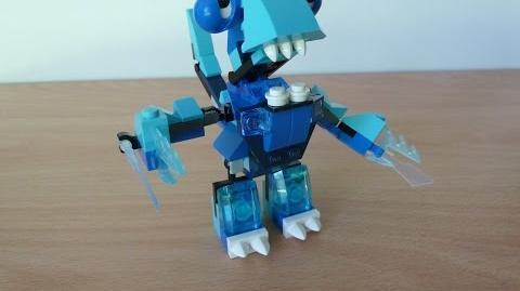 FROSTICONS MAX LEGO MIXELS Serie 2 Lego 41509 Slumbo Lego 41510 Lunk Lego 41511 Flurr