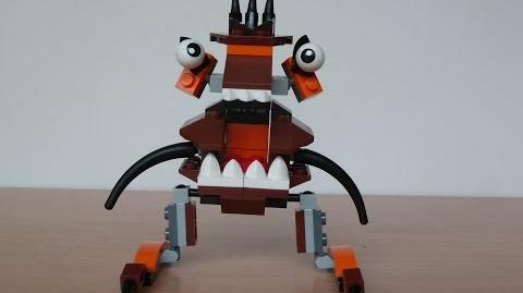 LEGO MIXELS CHOMLY and BALK MURP with Lego 41512 and Lego 41517 Mixels Serie 2