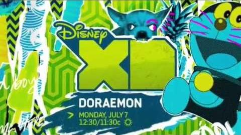 Doraemon - Disney XD TV Commercial