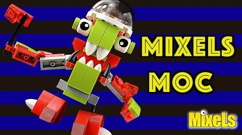 Lego Mixels (MOC) My own creation 1 Lego stop motion animation build