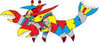 Cyber Crustacean Mixeloptor
