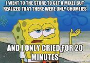 Mixels Spongebob Meme