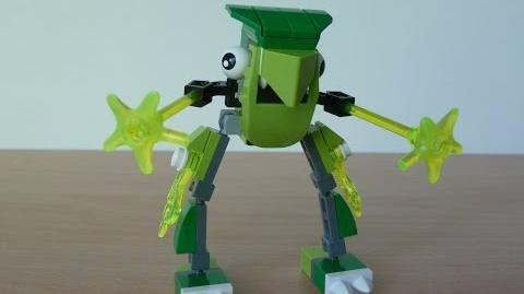 LEGO MIXELS GLOMP and TORTS MIX with Lego 41518 and Lego 41520 MIXELS Serie 3