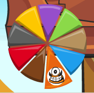 Kraw in Mixels Pie Graph