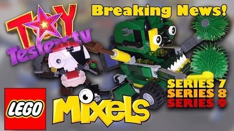LEGO Mixels Series 7 LEGO Mixels Series 8 LEGO Mixels Series 9