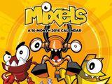 Mixels: 2016 Wall Calendar