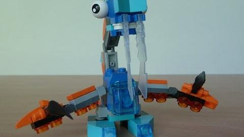LEGO MIXELS LUNK and TENTRO MIX with Lego 41510 and Lego 41516 Mixels Serie 2
