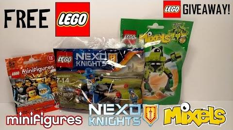 LEGO GIVEAWAY - EXCLUSIVE SET and MORE - FREE LEGO!