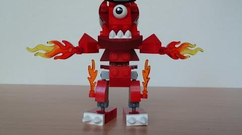 LEGO MIXELS FLAIN and ZORCH MIX with Lego 41500 and Lego 41502 Mixels Serie 1