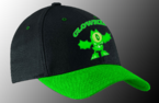 Globert in the dark cap