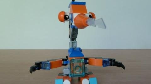 LEGO MIXELS LUNK and BALK MIX with Lego 41510 and Lego 41517 Mixels Serie 2