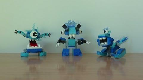 LEGO MIXELS SERIE 5 Frosticons Tribe Krog Chilbo Snoof Frosticons Max