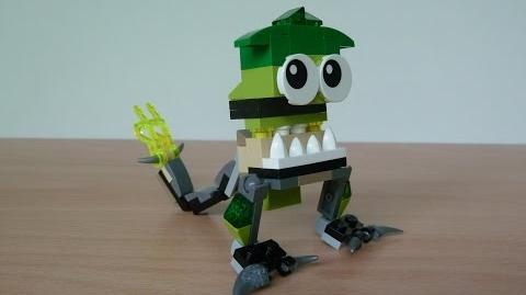 LEGO MIXELS GLOMP and SCORPI MURP with Lego 41518 and Lego 41522 Mixels Serie 3