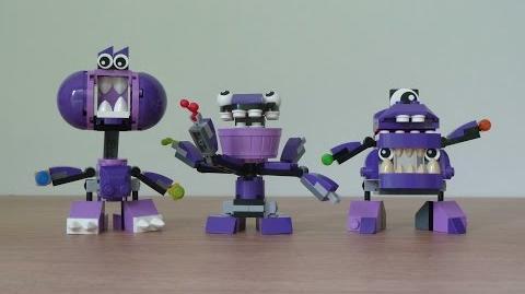 LEGO MIXELS SERIES 6 MUNCHOS Snax Berp Vaka Waka Munchos Max