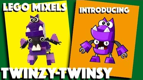 LEGO Mixels - Twinzy-Twinsy - Stop Motion Build