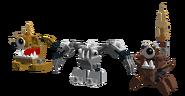 Golden Krog, Silver Hoogi, and Bronze Flamzer