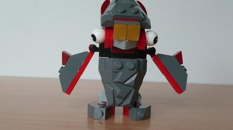 LEGO MIXELS FLAIN and SHUFF MIX with Lego 41500 and Lego 41505 Mixels Serie 1