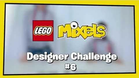 LEGO Mixels 6 Night Worker Glow Mix
