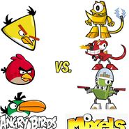 Angry birds vs. mixels