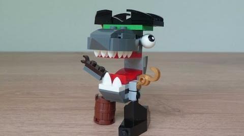LEGO MIXELS SHARX LEGO 41566 Pyrratz Mixels Series 8