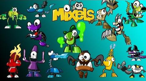 Calling All Mixels - Mixels Get Upset ( All Upsets )-0