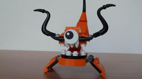 LEGO MIXELS KRAW and BALK MURP with Lego 41515 and Lego 41517 Mixels Serie 2