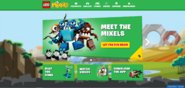 Mixels June LEGO Site