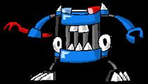 Mixels cartoon busto by darktidalwave-d9ct0u8