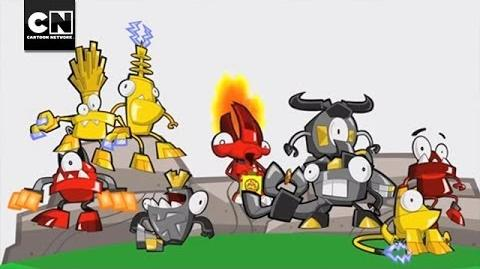 Cookironi Mixels Cartoon Network