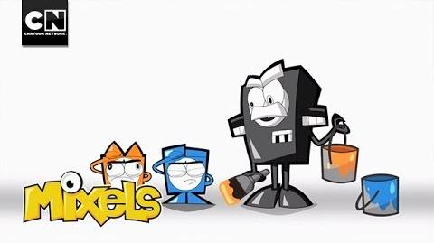 Nixel Mix Over Mixels Cartoon Network